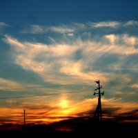 пост закат :: Радмир Абдрахманов