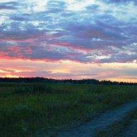 Необыкновенный закат :: Олег Якуба