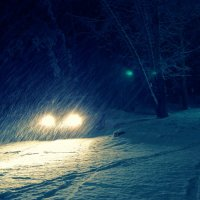 весенний снег :: Konstantin Gubanov