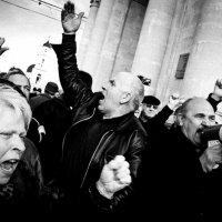 Протест анти коммунистов :: Ramin Mazur