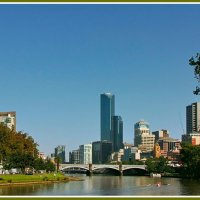 Мельбурн на реке Ярра :: Евгений Печенин