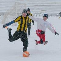 Футбол в снежную метель :: YurokNiko Li
