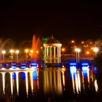парк в районе Запорожской Радуги :: Михаил Рублевский