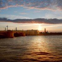 Закат над Невой :: Сергей Лошкарёв