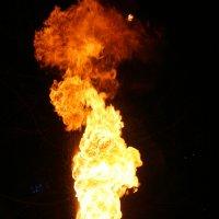Плевание огнем :: Елена Богос