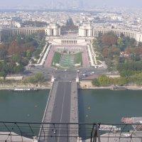 Вид с Эйфелевой башни :: Анна Семений