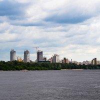 р.Днепр и панорама на Левый берег г. Киева :: Александра