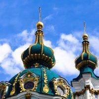 Купола Андреевской церкви :: Александра
