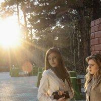 В лучах заходящего солнца :: Александр Ширяев