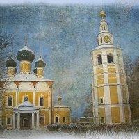 Углич падающая башня :: Александр Шмалёв