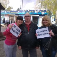 г.дивногорск, акция против курения ! :: николай баулин