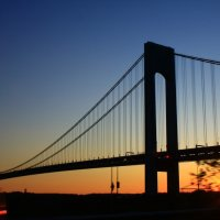 Вашингтонский мост,закат :: Galina Kazakova