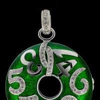 Золотой медальон с бриллиантами :: Alexander SEE