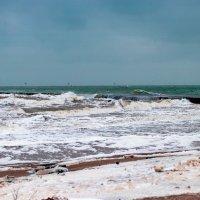 Зимнее море... :: Вахтанг Хантадзе