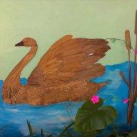 Детские поделки на стене 1 :: Евгений Кочуров