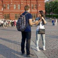 Московские встречи :: Евгений Жиляев
