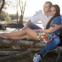 Оля и Дима :: александр исмагилов