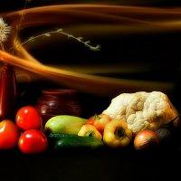 Овощи :: Наталия Лыкова