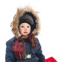 Зимний портрет ребенка :: Albina