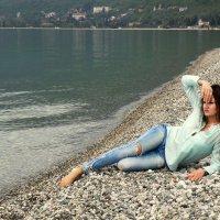 На берегу моря... :: Виолетта