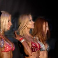 Bikini fitness on stage. :: Андрей Липатов