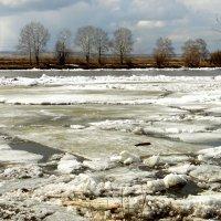 Ледоход на реке КАН. :: nadyasilyuk Вознюк