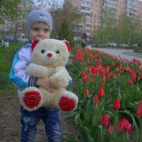 С мишкой в парке :: оксана косатенко