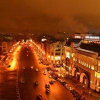 Ночная Москва :: Лилия Рунтова