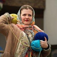 Игра с клубочками на Масленице :: Ирина Климова