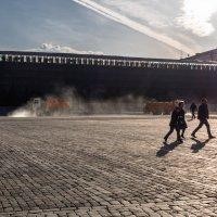 Влажная уборка на Красной площади :: Константин Фролов