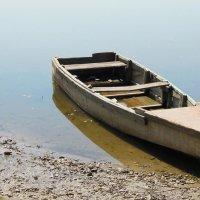 Лодка на Оке :: Михаил Пшеннов