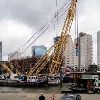 Портовый кран, Роттердам :: Witalij Loewin