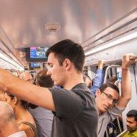 В вагоне метро :: Aivaras Troščenka