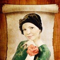рисунок из фото :: Наталия Плотникова