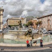 О римских фонтанах. :: dragonflight78.klimov