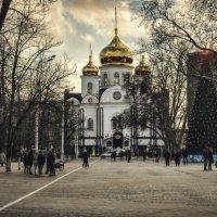 Войсковой собор князя Александра Невского. :: Анатолий Щербак