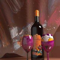 Реклама для компании Campo Viejo (3d Max) :: Наталья Щепетнова