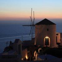 Вечер на Санторини :: Олег Потехин
