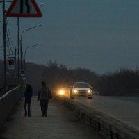 Вечером на мосту :: Дмитрий Костоусов