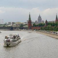 По Москве реке. :: dragonflight78.klimov