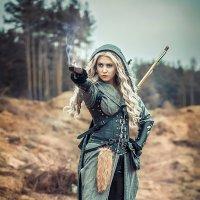 Охотница :: Виктор Седов