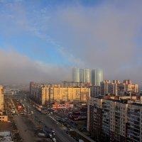 Туман в Рыбацком :: Зоя Авенировна Куренкова