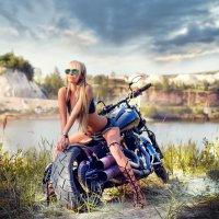 """""""Белый колодец"""" модель Юлия :: Денис Соболев"""