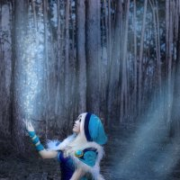 Косплей на Кристалку из Dota 2 :: Инна Грушовенко