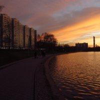 Удачно я припозднился с выездом на велосипеде :: Андрей Лукьянов