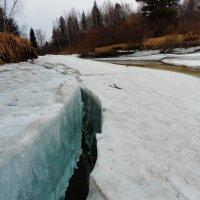 Весна раскалывает лёд :: Владимир Звягин
