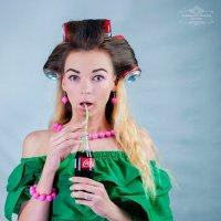 Натали и Coca-cola :: Татьяна Ковальская