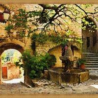 Старинный дворик с фонтаном :: Лидия (naum.lidiya)