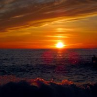 Яркий закат :: dli1953