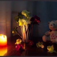 Причудливо коробочки соцветий львиный зев раскрыл навстречу полночи... :: Людмила Богданова (Скачко)